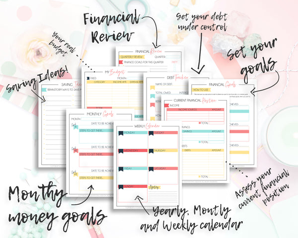 Want to really kick it up a gear and take control of your life? Do it with our Ultimate Life Planner. With 6 Planners in 1, over 140 pages - this printable planner is going to cover all aspects of your life! Get excited about life organization today! #lifeplanner #printablelifeplanner #printableplanner #lifeplanningbinder