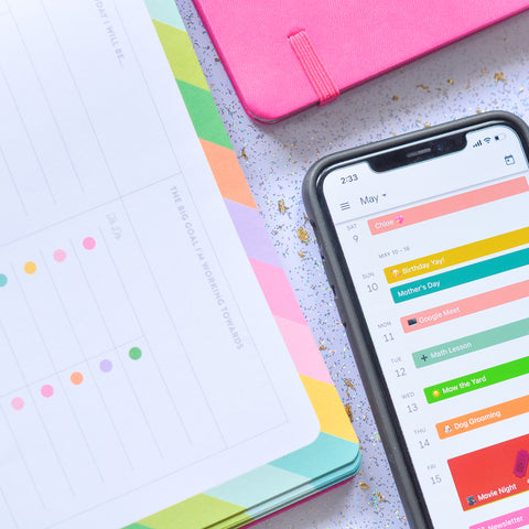 How I Use Google Calendar With My Paper Planner