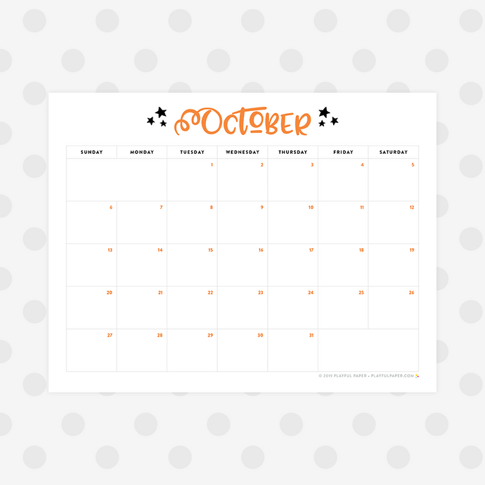 13 Halloween Movies the Whole Family Can Watch Together With Printable October Calendar