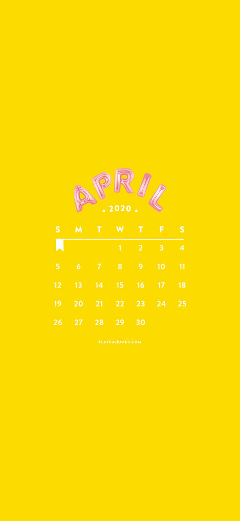 April Phone Wallpaper