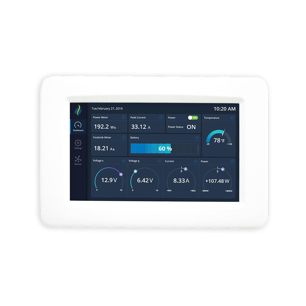PowerMon-D4 - Color Touchscreen for the PowerMon Battery Monitor - thornwave