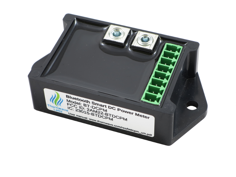 PowerMon - Bluetooth Battery Monitor / DC Power Meter with logging - Thornwave Labs