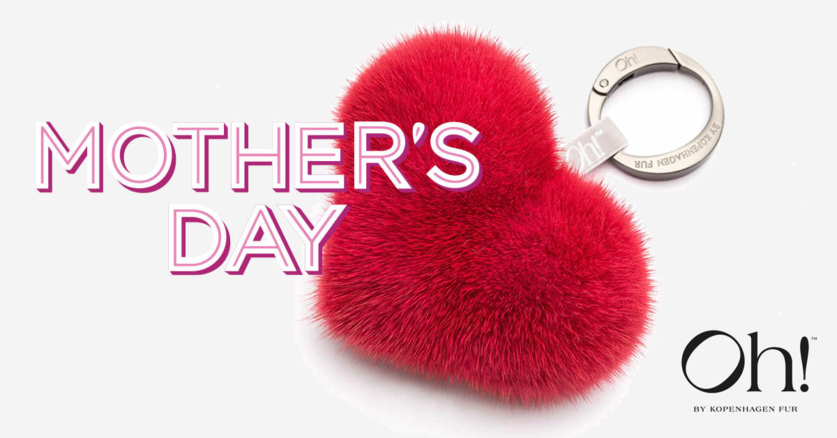 Show your love with a fur heart on mothers day <3
