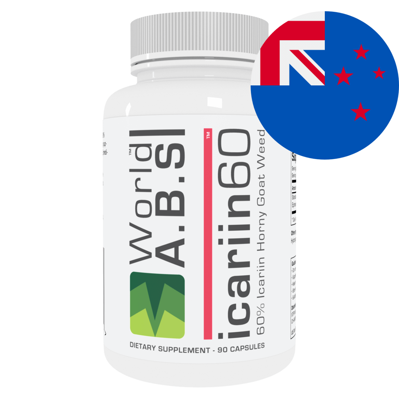 60% Icariin Horny Goat Weed New Zealand
