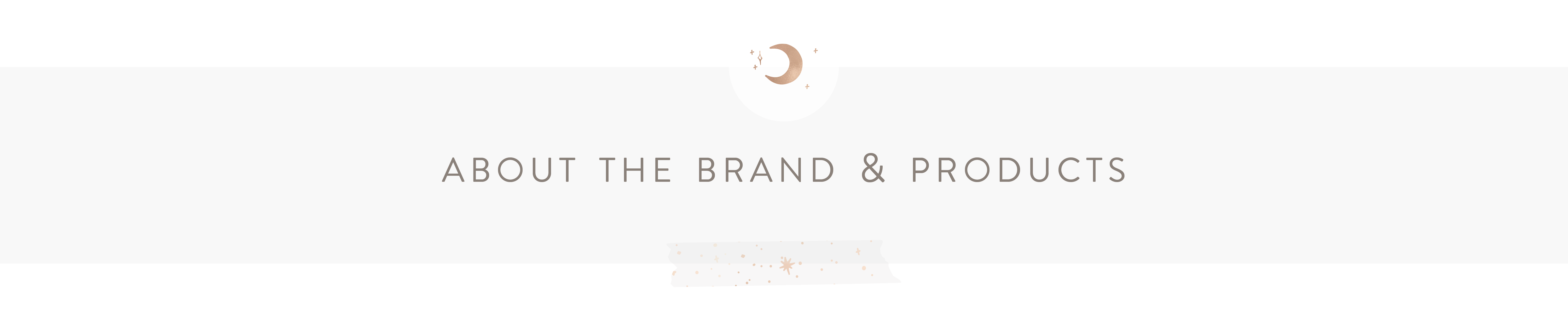 About the Brand & Products : By the Moon - Inspiration Cards & Displays
