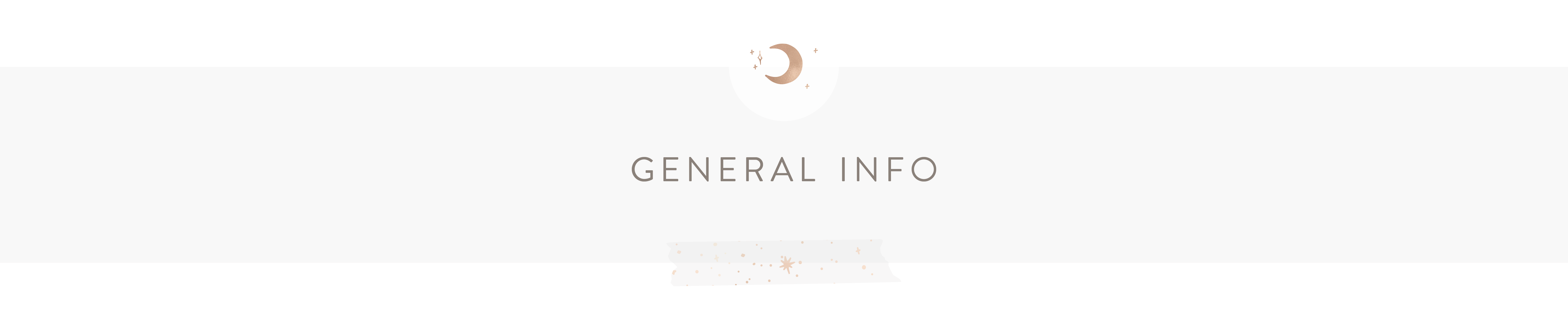 General Info : By the Moon - Inspiration Cards & Displays