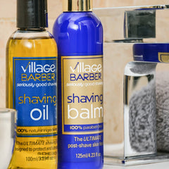 Premium Shaving Oil - Village Barber Shaving Oil & Balm