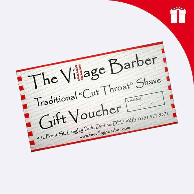 The Village Barber Shaving Voucher - Village Barber Shaving Oil & Balm