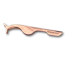 Load image into Gallery viewer, ROSE GOLD LASH TWEEZERS