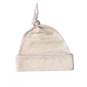 Oatmeal Knotted Hat