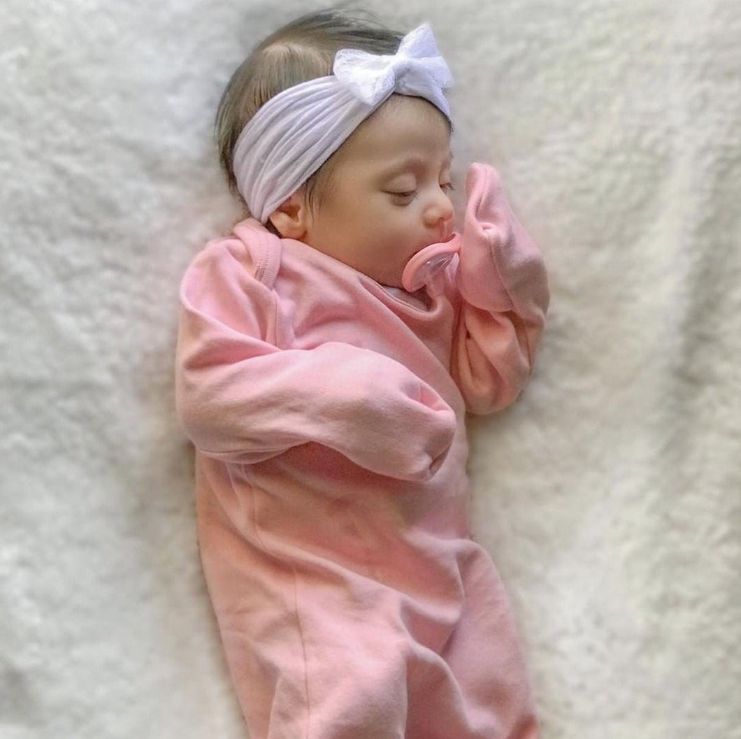 Clay Pink Sleep Gown