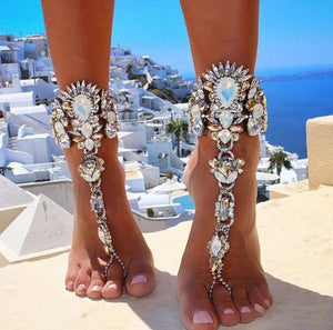 Crystal Barefoot Sandals (1 piece)