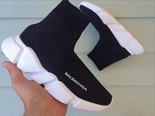 Load image into Gallery viewer, Balenciaga Speed Trainers  Black White