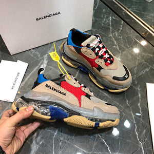 Balenciaga Triple S Transparent Sole