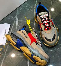 Load image into Gallery viewer, Balencia Triple S Transparent Sole D