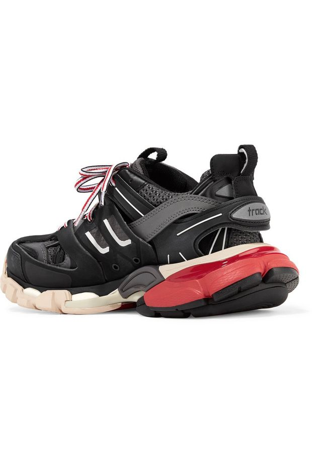 Balenciaga Track Trainers Sneakers  Black Red BB