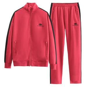 Balenciaga Sport Suit Red