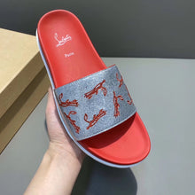 Load image into Gallery viewer, Louboutin Slippers