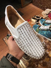 Load image into Gallery viewer, Louboutin Sneakers White Shoes