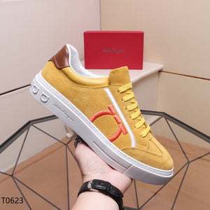 Ferragamo Sneakers Yellow
