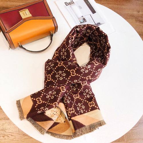 G Scarf Monogram 2 Colors