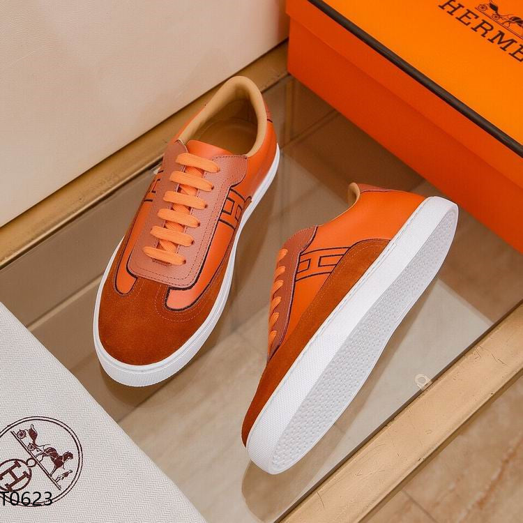 Herm Sneakers Orange