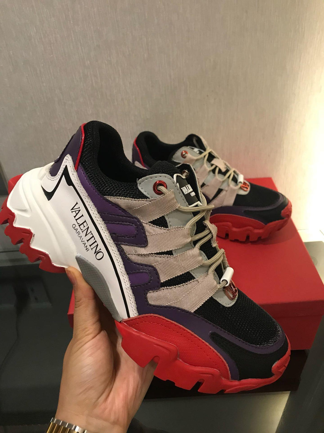 Valentino Sneakers Track 4 Colors