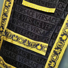 Load image into Gallery viewer, Versace Towel Set Black