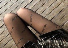 Load image into Gallery viewer, Balenciaga Hosiery Tights  Pantyhose