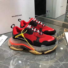 Load image into Gallery viewer, Balenciaga Triple S Sneakers Red Clear Sole