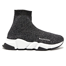 Load image into Gallery viewer, Balenciaga Speed Trainers Silver