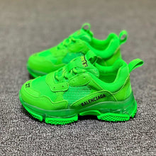 Load image into Gallery viewer, balenciaga clear sole sneakers kids triples