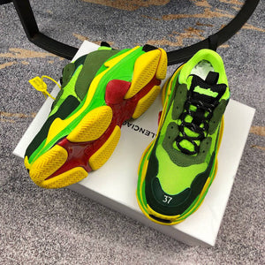 Balenciaga Triple S Green Y
