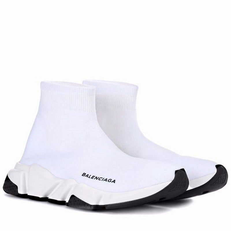 d5b3ba0ac04 ... Load image into Gallery viewer, Balenciaga Speed Trainers White B ...