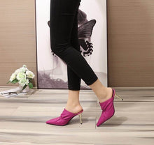 Load image into Gallery viewer, Balenciaga Shoes Fuchsia Heels