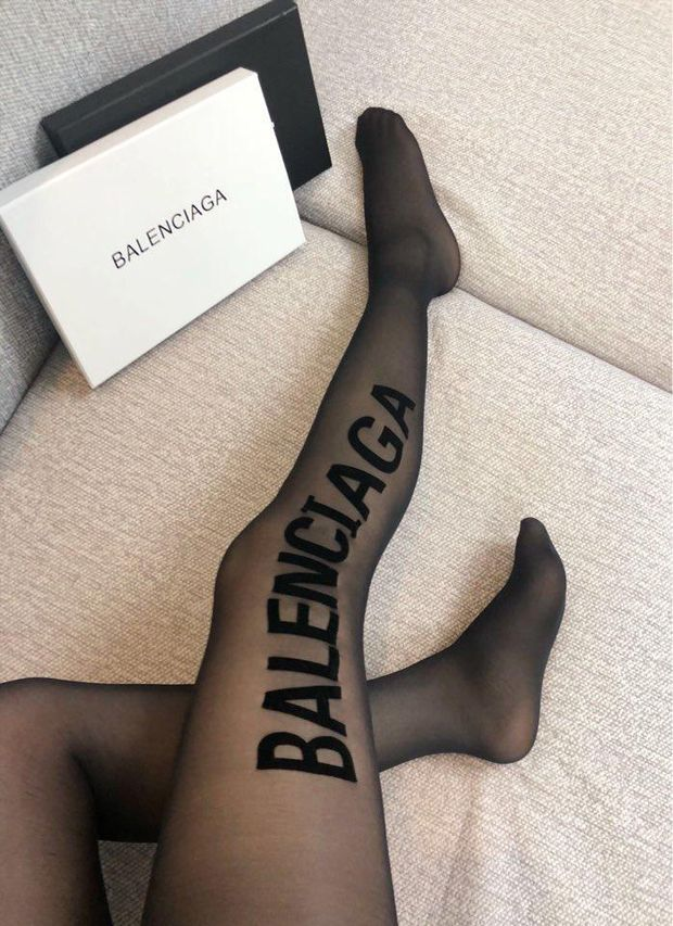 d1fd20f5d5420 ... Load image into Gallery viewer, Balenciaga Hosiery Tights Pantyhose ...
