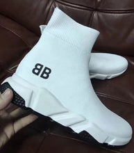 Load image into Gallery viewer, Balenciaga Speed Trainer Sneakers White bb