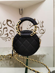 Chl Bag Leather Black