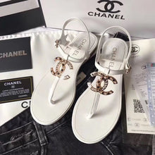 Load image into Gallery viewer, Chl Sandals White