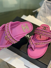 Load image into Gallery viewer, Chl Slippers Fuchsia