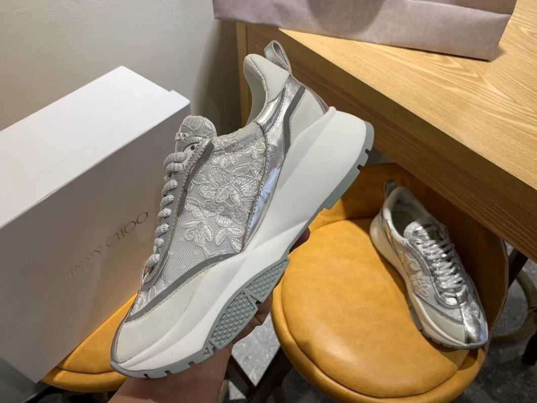 Jimmy Choo Lace Sneakers 3 Colors