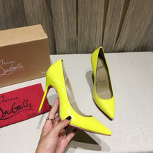 Load image into Gallery viewer, Labutin Heels Shoes Yellow