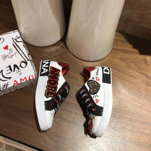 Load image into Gallery viewer, D&G  Kids Sneakers White