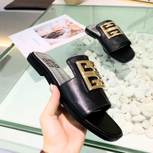 Givenchy Slippers Black