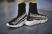 Load image into Gallery viewer, Balenciaga Speed Trainer Sneakers  L Logo