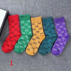 G Socks 5 Colors
