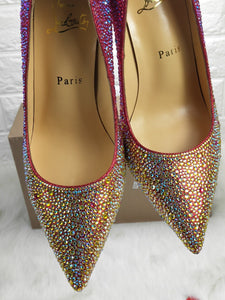 Louboutin Shoes Gold