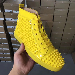 Louboutin Sneakers Yellow