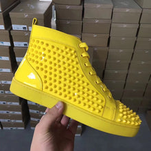Load image into Gallery viewer, Louboutin Sneakers Yellow