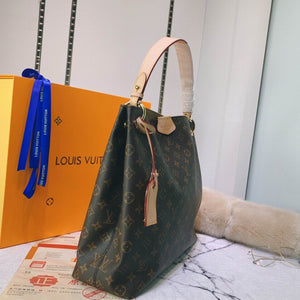 L Bag Tote Brown